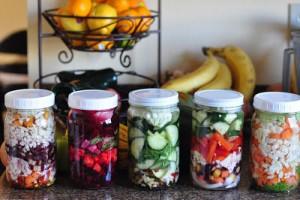 fermented jars